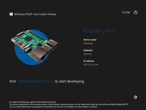 Windows 10 for RaspberryPi